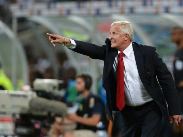 South Africa coach Igesund in hospital