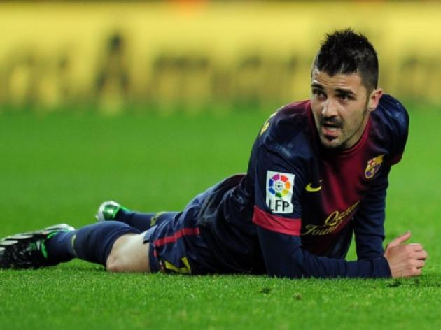 Barcelonas Villa taken back into hospital