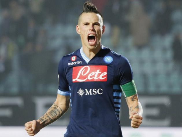 Napoli striker Hamsik robbed at gunpoint - reports