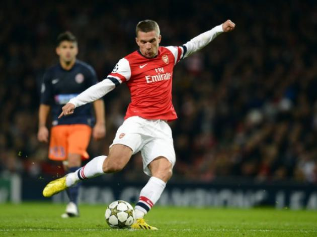 Arsenal forward Lukas Podolski 'very upset' by loss to old club Bayern