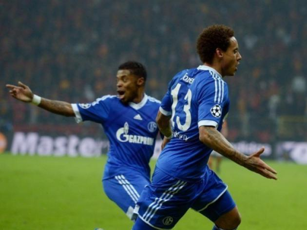 Jones strike earns Schalke draw at Galatasaray