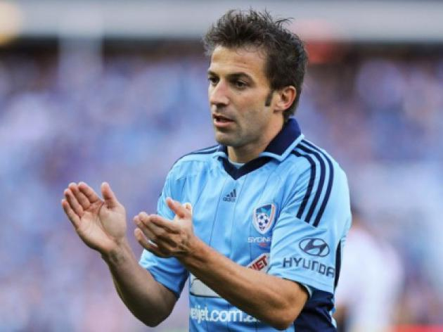 Del Piero signs for second season Down Under