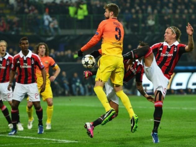 Barcelona's defeat to AC Milan threatens La Liga's status