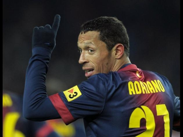 Barcelonas Adriano out with heart anomaly