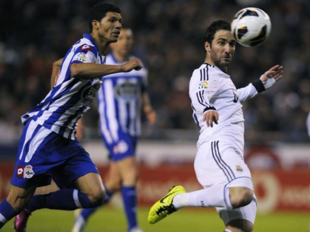 Madrid fight back to beat Deportivo with late goals from Kaka  Higuain