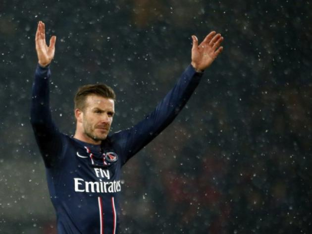 Beckham earn starting spot in Paris Saint-Germain cup game