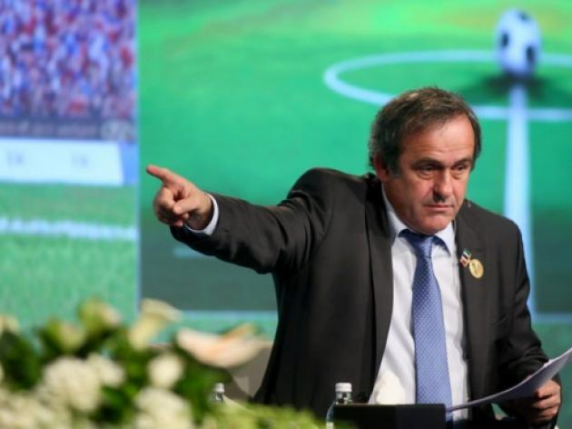 Platini warns Croatia and Serbia on violence