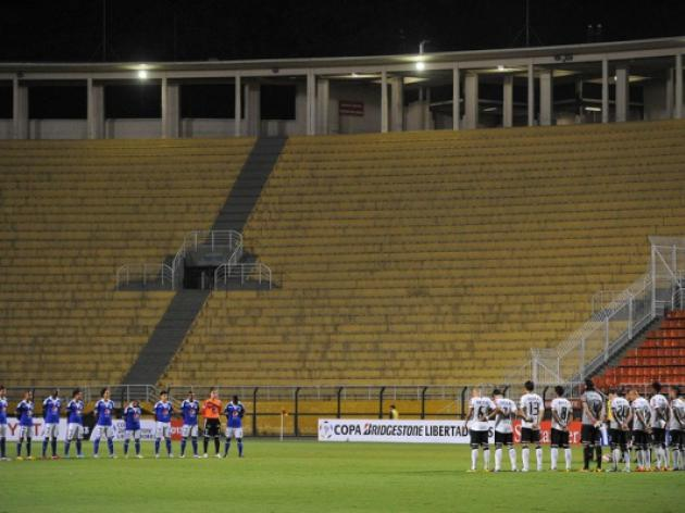 Corinthians fans slam ban over Colombia death as 'unfair'