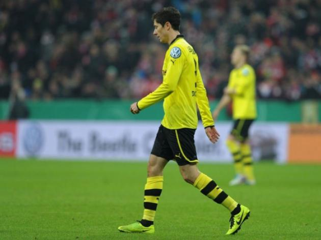 Dortmund star Lewandowski to face Hanover after ban reduced