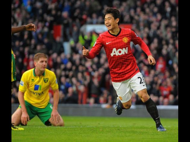 Kagawa on fire as United sound Madrid warning