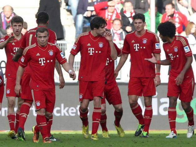 Bayern rack up perfect 10 at Hoffenheim