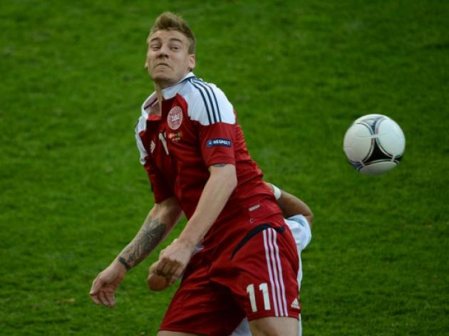 Arsenal's Bendtner suspended for six months after drinking binge