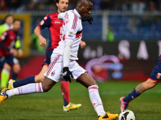 Balotelli scores as AC Milan go 10 games unbeaten