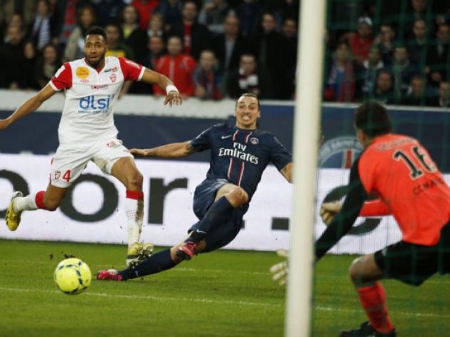 Zlatan Ibrahimovic brace inspires PSG to victory