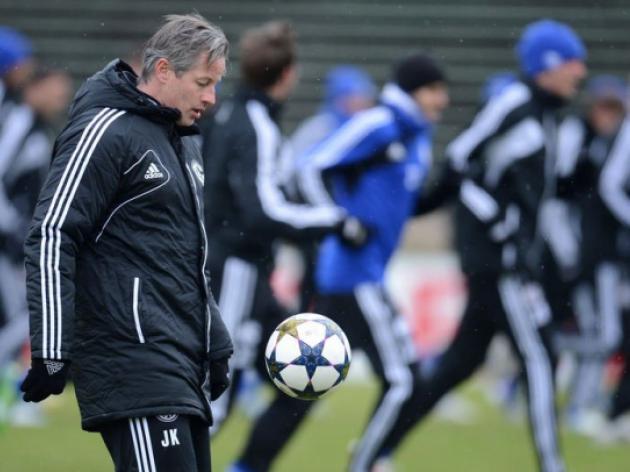 Schalke low on strikers against Galatasaray