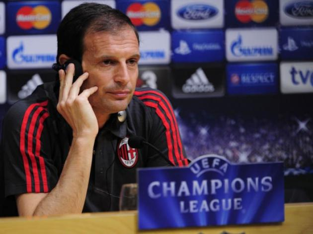 Allegri not taking Milan qualification for granted