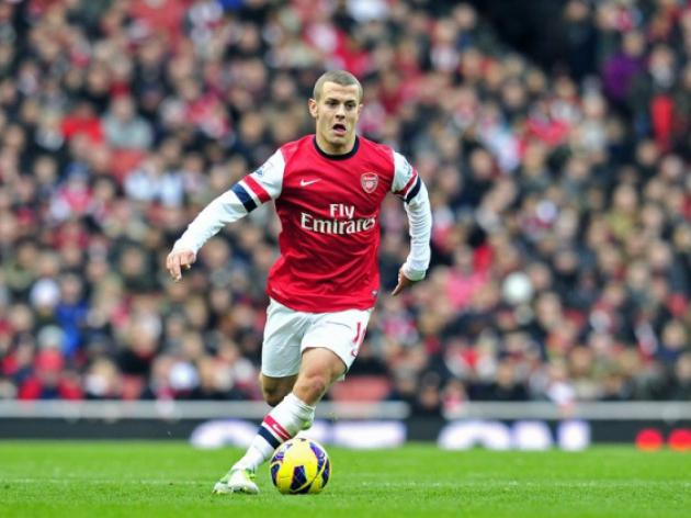 Arsenals Wilshere ruled out for three weeks