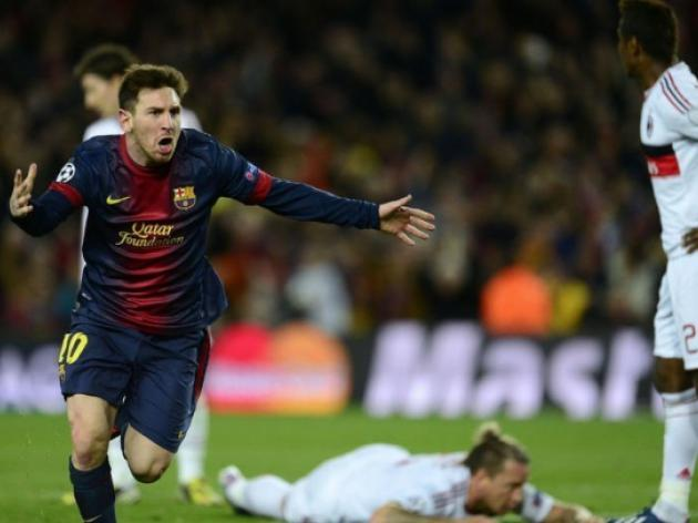 Barcelona through to Champions League quarters