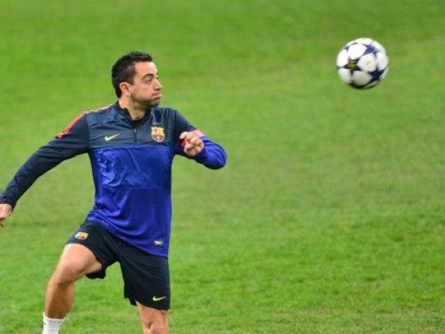 Xavi out of Rayo Vallecano clash