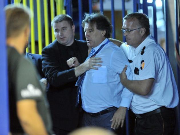 Dinamo Zagreb chief detained for hate speech