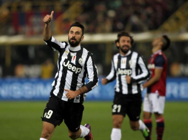 Juve beat Bologna to move 12 points clear