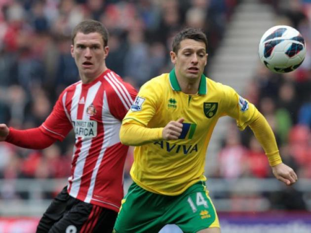 Sunderland frustrated by 10-man Norwich