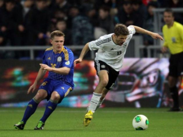 Below-par Germany see off Kazakhstan