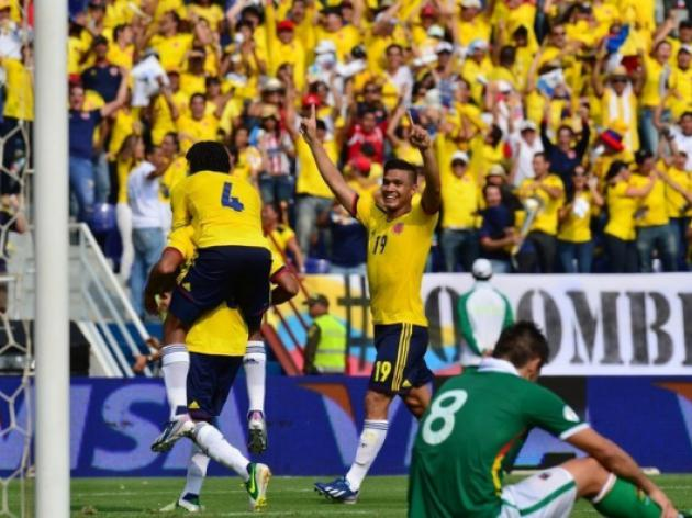 Colombia march on as Uruguay held by Paraguay