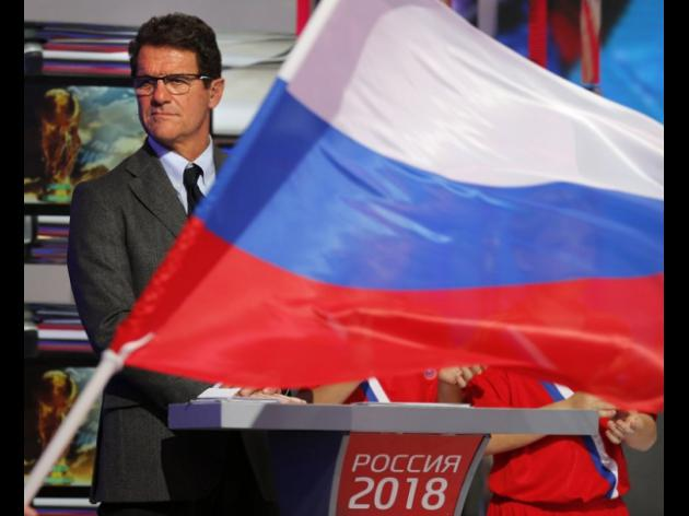 Capello challenges Russia to shock Brazil