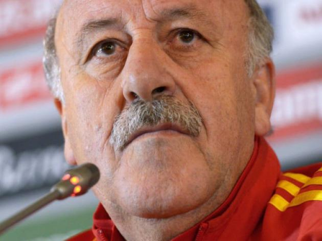 Keep calm and carry on, urges Spain coach