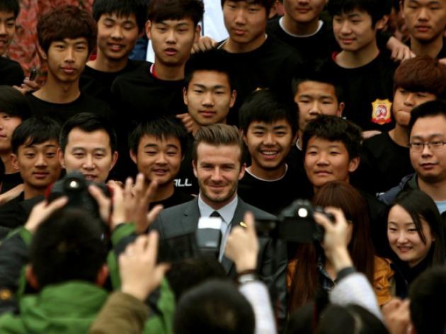PSG shrug off Beckhams China visit