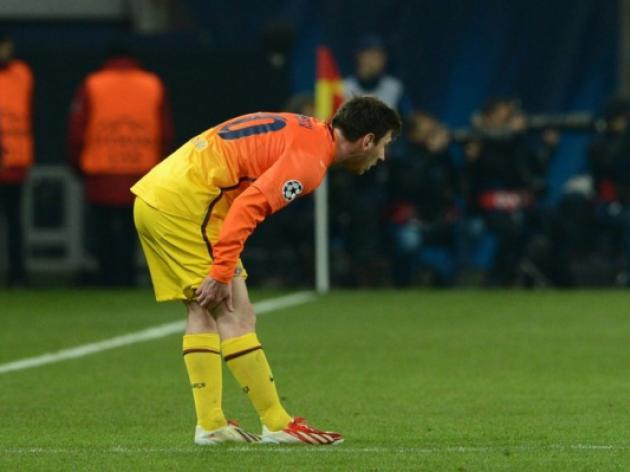Messi may be fit for PSG return leg