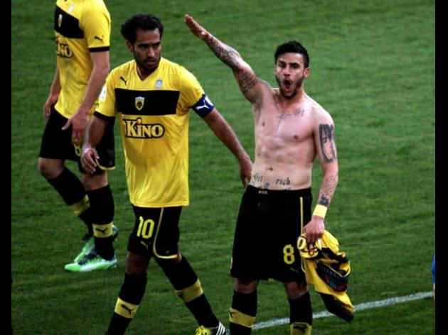 Player with Nazi salute gets light penalty