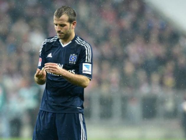 Van der Vaart made new Hamburg captain