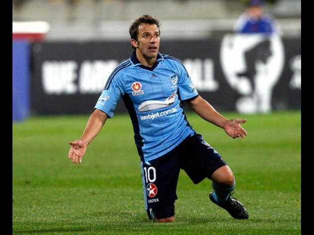 Del Piero pulls out of Sydney friendly