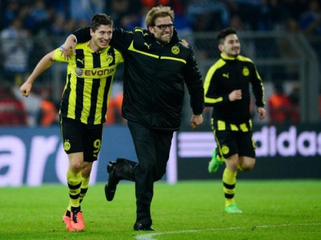 Borussia Dortmund lucky to make semis admits Juergen Klopp