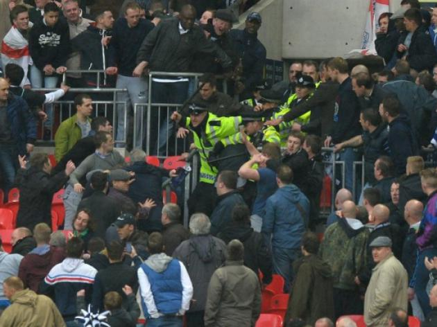 Millwall fans who shamed Wembley face life bans