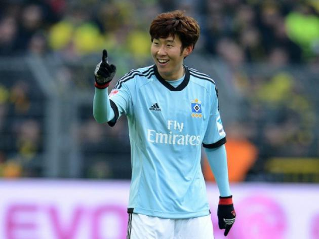 Son brace boosts Hamburgs Europa hopes