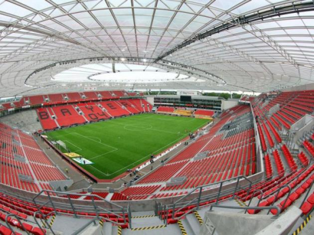 Leverkusen unveil high-tech stadium plans