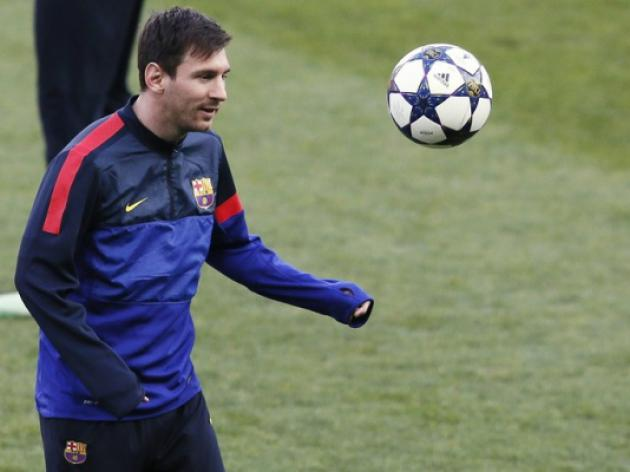 Barcelona boosted as Messi returns to training