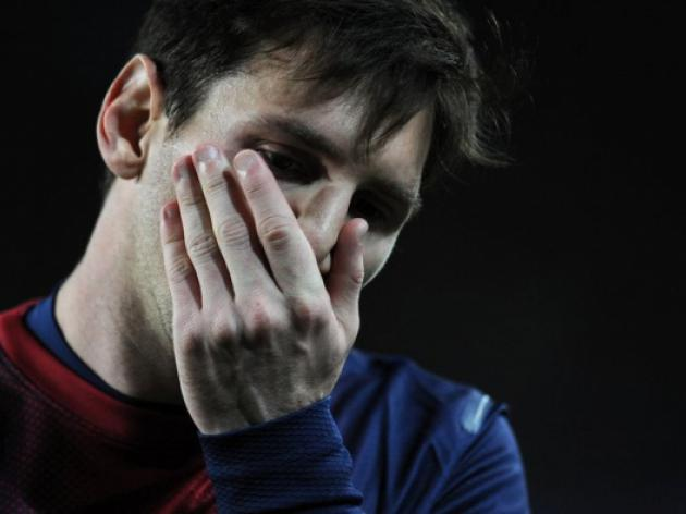 Barcelonas Roura prudent on Messi return
