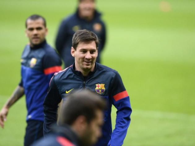 Messi will be Barcas key in Munich - Xavi