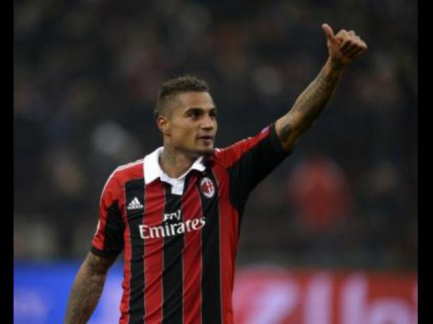 Juventus fined over racism aimed at Milan's Boateng by supporters