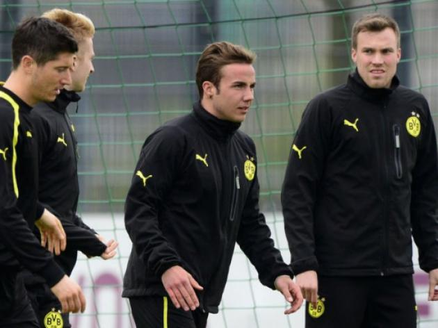 Goetze in for Dortmund against Real