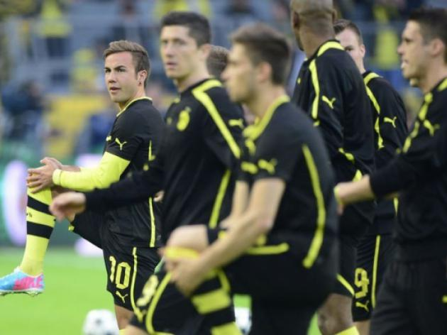 Fans Goetze reaction pleases Dortmund boss