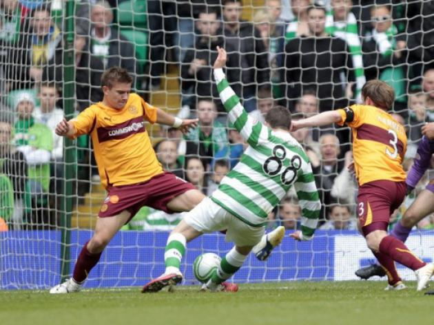Motherwell 3-3 Celtic: Match Report