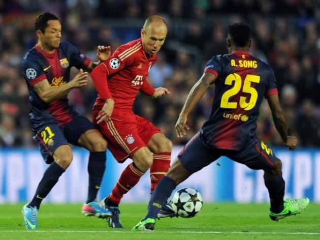 Spain laments powerless Barca