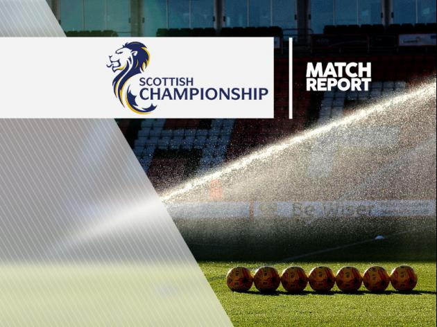 Morton 2-0 Airdrie Utd: Match Report