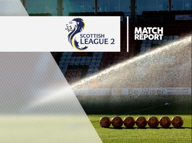 Montrose 0-2 Alloa: Report