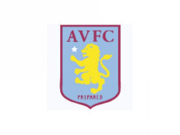 Villa duo missing for Cup clash